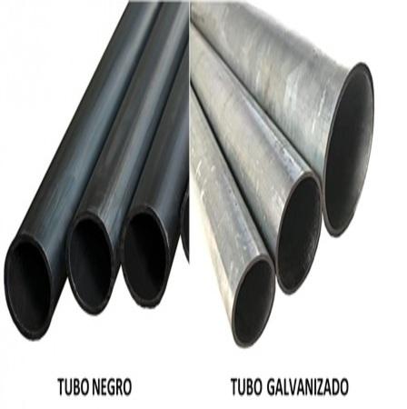 tubo negro y galvanizado en lima